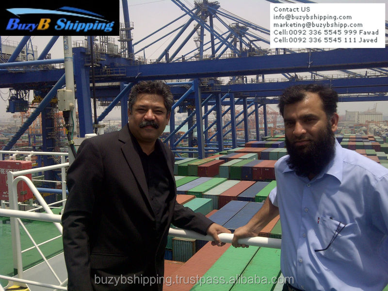 Best freight forwarder sea shipping to Pakistan from Malaysia, Singapore, Dubai, India, Japan