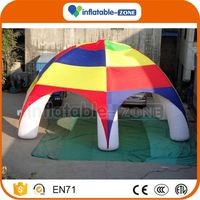 New design inflatable airtight camping tent inflatable tent cube