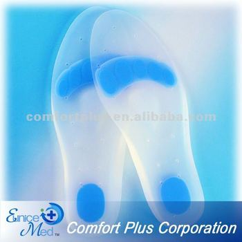OEM Footcare full length silicone insole gel