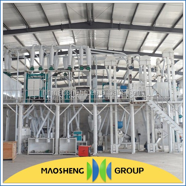 Wheat flour/corn flour/maize processing plant