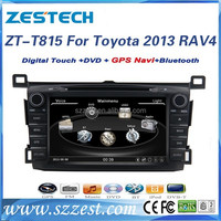 ZESTECH Factory 8'' 2 din car dvd gps for toyota RAV4 2013 2014 with GPS+BT+FREE MAP+REARVIEW CAMERA+CANBUS