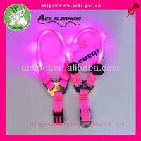 HOT LED dog harness,newest dog harness patterns