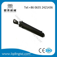 Dump Truck Tractor Loader Mini Small Push Pull Double Acting Tie Rod Welded Piston Hydraulic Cylinder
