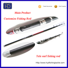 Foldable Telescopic Glass Fiber Fishing Rods stainless steel guide
