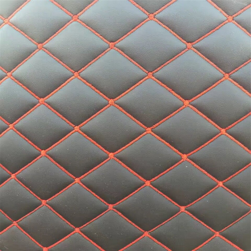 China universal artificial leather for car floor mat