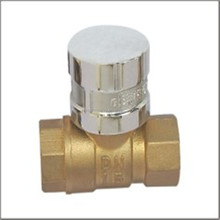 PN20 CW615N Material Brass Ball Valve with Standard Bore Plain Surface FXF BSP Thread Short Handle PVC Coated