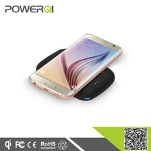wireless qi charging pad power bank with receiver portable charger for Samsung galaxy note 5 mobile