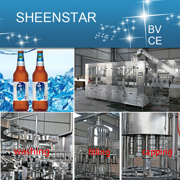 zhangjiagang hot export beer line production