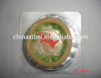 Fashion sex toy condom, spike condom for female male sex climax