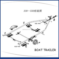 Gather High Quality Reasonable Price Alibaba Suppliers Boat Trailer Frame