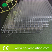 High Quality transparent anti-uv lowes greenhouse polycarbonate