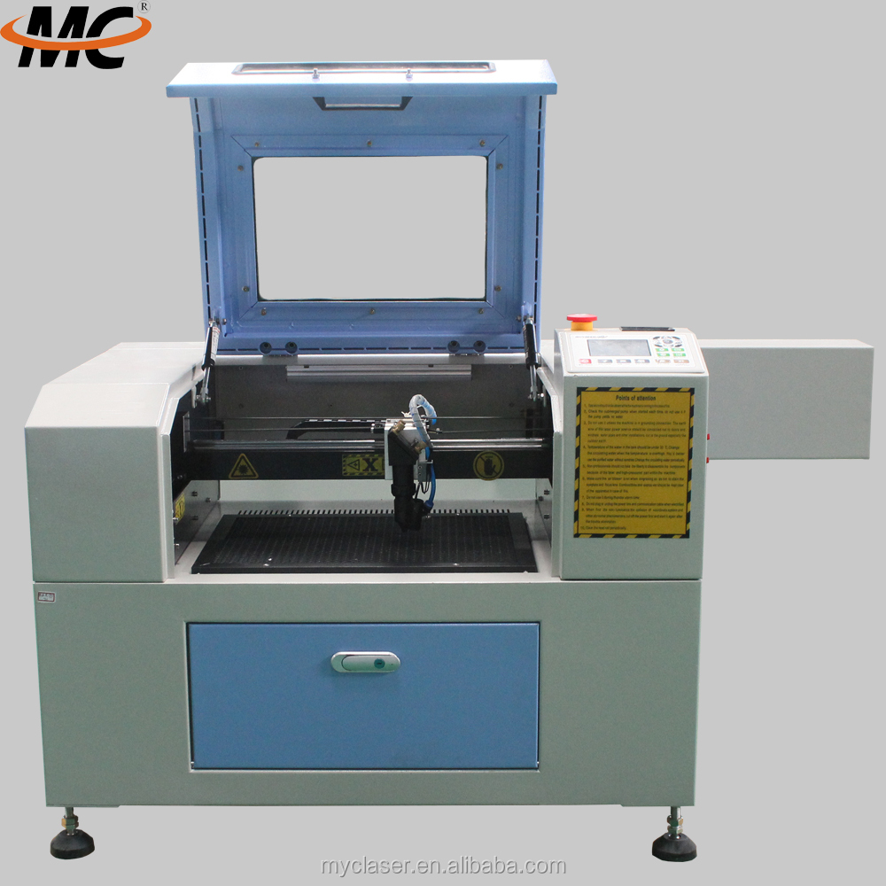 Small CO2 CNC paper wedding card laser cutting machine MC 4030