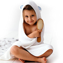 2017 Luxury organic bamboo baby hooded bath towel,extra soft for infant,toddler,newborn baby and kids