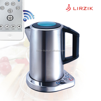 IGK-1803Sa Wi-Fi Kettle stainless steel kettle electrical wholesale China 360 Rotational Base Feature and Yes Automatic
