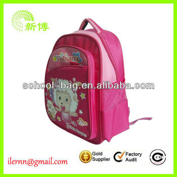 popular new design lovely children's school bags