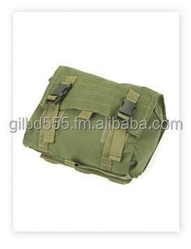 Back Pouch, with map, radio & helmet compartments.
