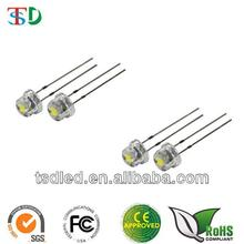 High bright 5mm straw hat led in Red yellow Blue Green and white