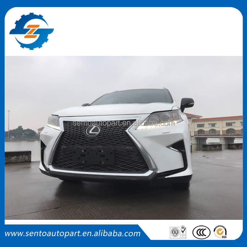 Lexus RX270 RX350 RX450 front bumper body kit headlight grille refit to new R270 RX350 RX450 body kit 16-17