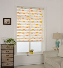 Printing fabric window curtain blinds for interior decoration