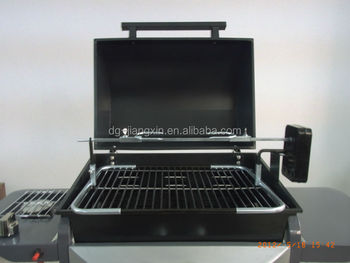 3 to 6 Burners Gas Grill Electric / Battery Rotisserie Kit