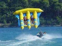 inflatable flying banana boat