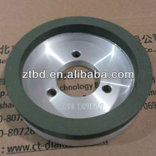 High quality resin bond cup glass grinding wheel for straight line and double edge machine