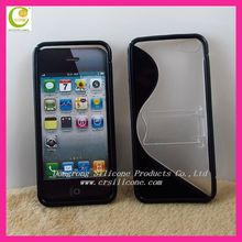 100% pure tpu cover case for iphone 5,most simple and cooling back cove for iphone 5