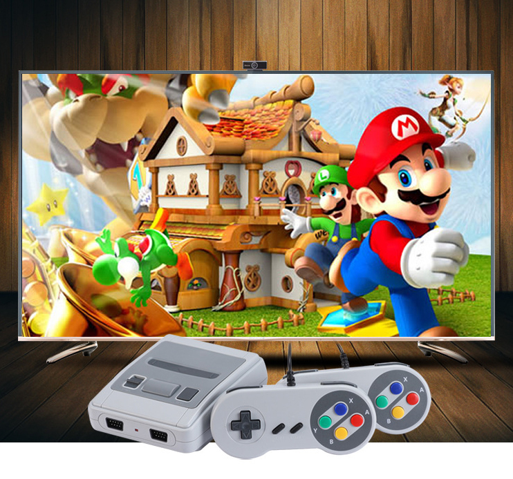 8 bit HD Retro TV Video Games Console With 2pcs Game Controllers 621