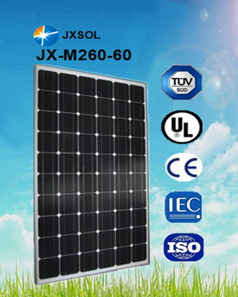 Good quality solar energy products 260w pv mono solar panel manufacturers in China factory