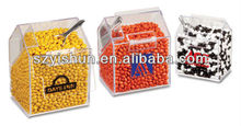 Manufacturing acrylic box acrylic containers candy bin
