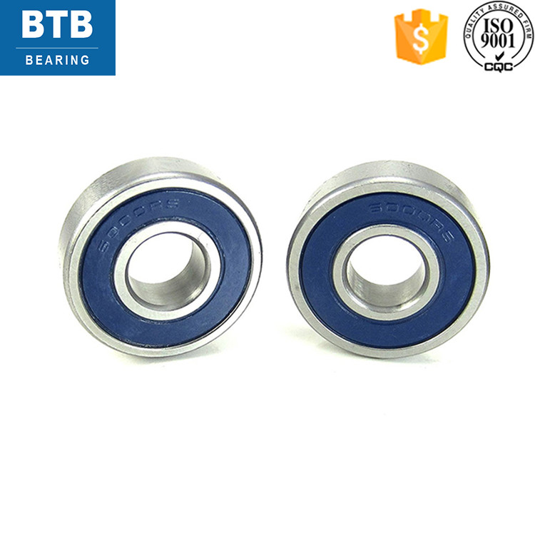 Low Noise Deep Groove Ball 6000 Zz 2Rs Bearing For Motor Bike