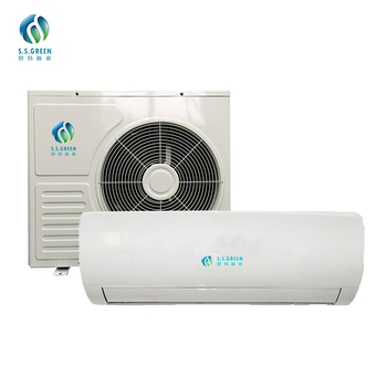 2018 NEW Split unit solar powered mini air conditioner/ dual power  solar air conditioning 18000BTU  896W