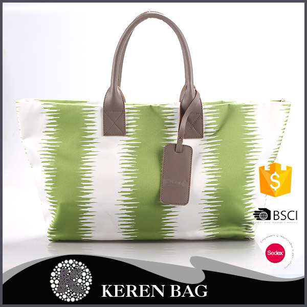 New Products For home-use Portable white and green brazaletes casual bags