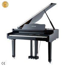 88 keys Digital Piano HD-W120 Weighted Hammer Action Keyboard Music Instrument, Ebony Polished