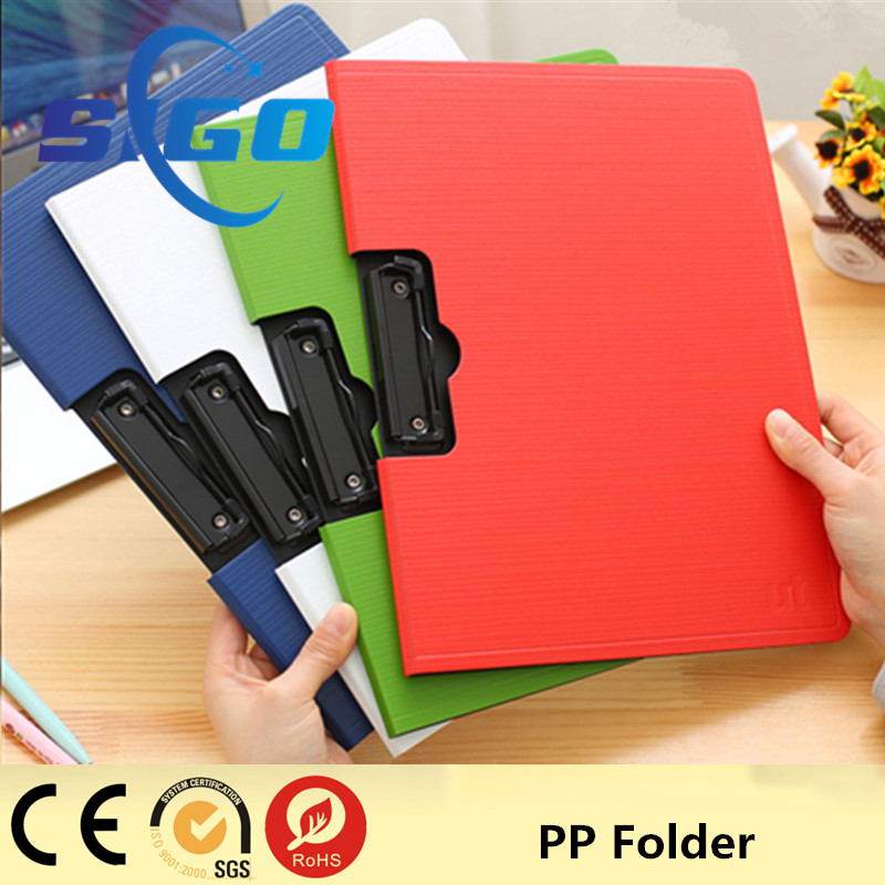 2016 Hot sale new plastic pp file folder/strong folder