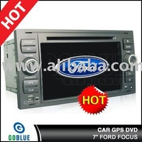 7 inch car dvd player speical for FORD FOCUS with high resolution digital touch screen ,gps ,bluetooth,TV,radio,ipod
