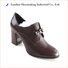 Italian womens lady pumps leather shoes chengdu manufacturer offered