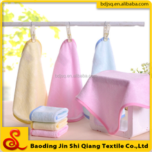Wholesale organic bamboo fiber washcloth hand towel