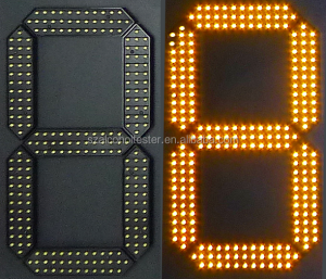 digital number led gas price display 7 segments
