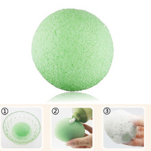 100% Cotton Konjac Facial Cleaning Sponge Raw Material Skin Care Konjac Sponge Private Label
