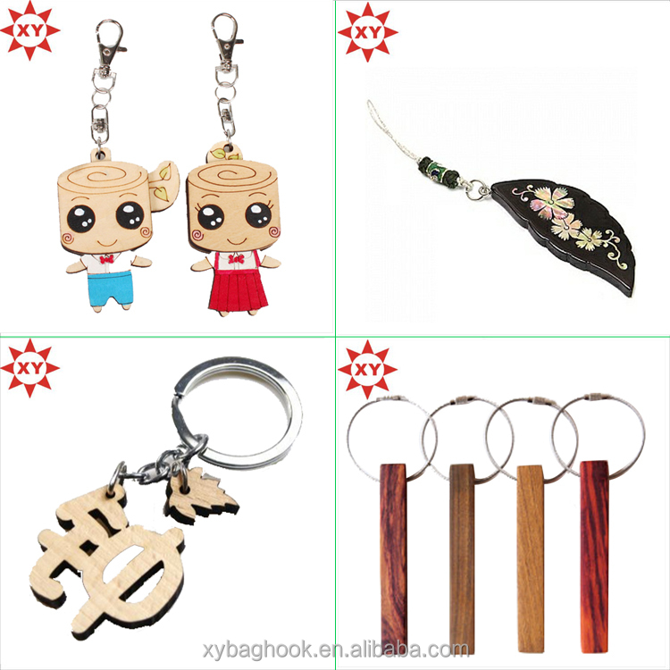 Promotional gift trolley coin holder keychain