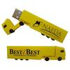 Business Gift Truck Shape USB Flash Drive 8GB 16GB Pendrive with Custom Logo