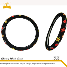 2014 new launch high quality cartoon steering wheel cover