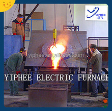 Low Power Consumption Fast Speed Induction Melting Electric Furnace / Intermediate Frequency Furnace
