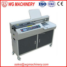 Low price manufacture glue perfect notebook binding machine