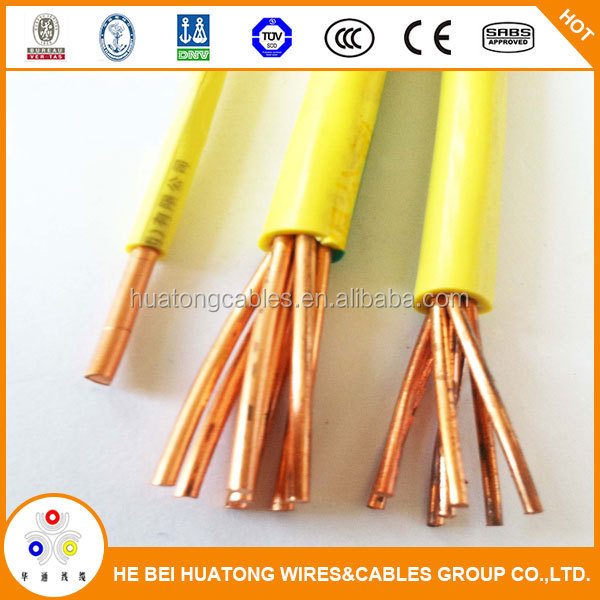 0.75mm 1mm 1.5mm 2.5mm 4mm copper core PVC coated wire electrical house wiring