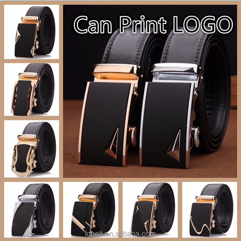 Cowhide Genuine leather Men's automatic buckle <strong>belt</strong> wholesale <strong>belts</strong> for men stock more style
