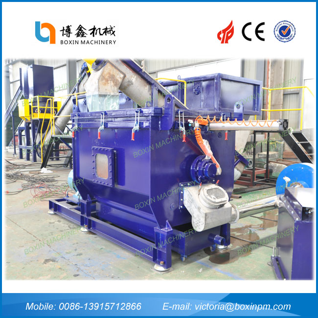 Hot selling pp raffia woven bag recycling washing plant with low price