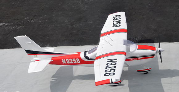 1.4M 4CH electric cessna rc foam plane