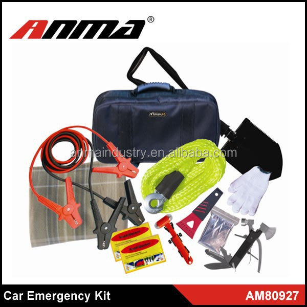 winter survival emergency kit/car winter safety tool kit